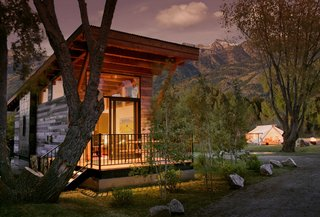 Test Out Tiny House Living at One of These Nature-Immersed Cabin Resorts - Photo 6 of 14 - Fireside is just minutes from the Grand Teton National Park and local ski slopes.