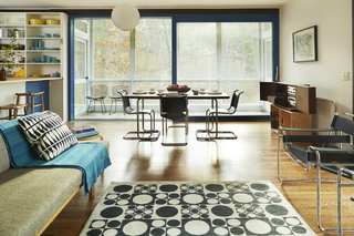 Experience Cape Cod Modern by Staying at the Midcentury Weidlinger House - Photo 6 of 8 - The living area has been lovingly restored.