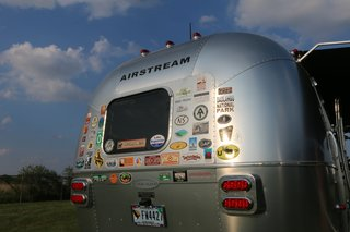 "Live the Airstream Life Vicariously With a New Book That Celebrates the Timeless Trailers - Photo 3 of 19 - For Airstream fanatics, there are caravans and rallies all over the world, including an annual ""Alumapalooza"" every summer at the Airstream factory in Ohio that brings together fans from all over the country. The trailers are in high demand—so much so that Airstream factories can't keep up. On average, customers have to wait up to three months to receive their vehicles after placing an order."
