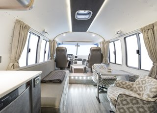 Live the Airstream Life Vicariously With a New Book That Celebrates the Timeless Trailers - Photo 18 of 19 - Shown here is high-quality interior by ARC Airstreams.