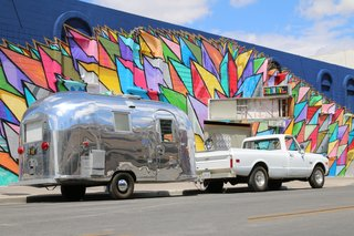 Live the Airstream Life Vicariously With a New Book That Celebrates the Timeless Trailers - Photo 4 of 19 - Shown here is Bambi II, a rare beauty owned by veteran Airstream DIY-er Kristiana Spaulding.