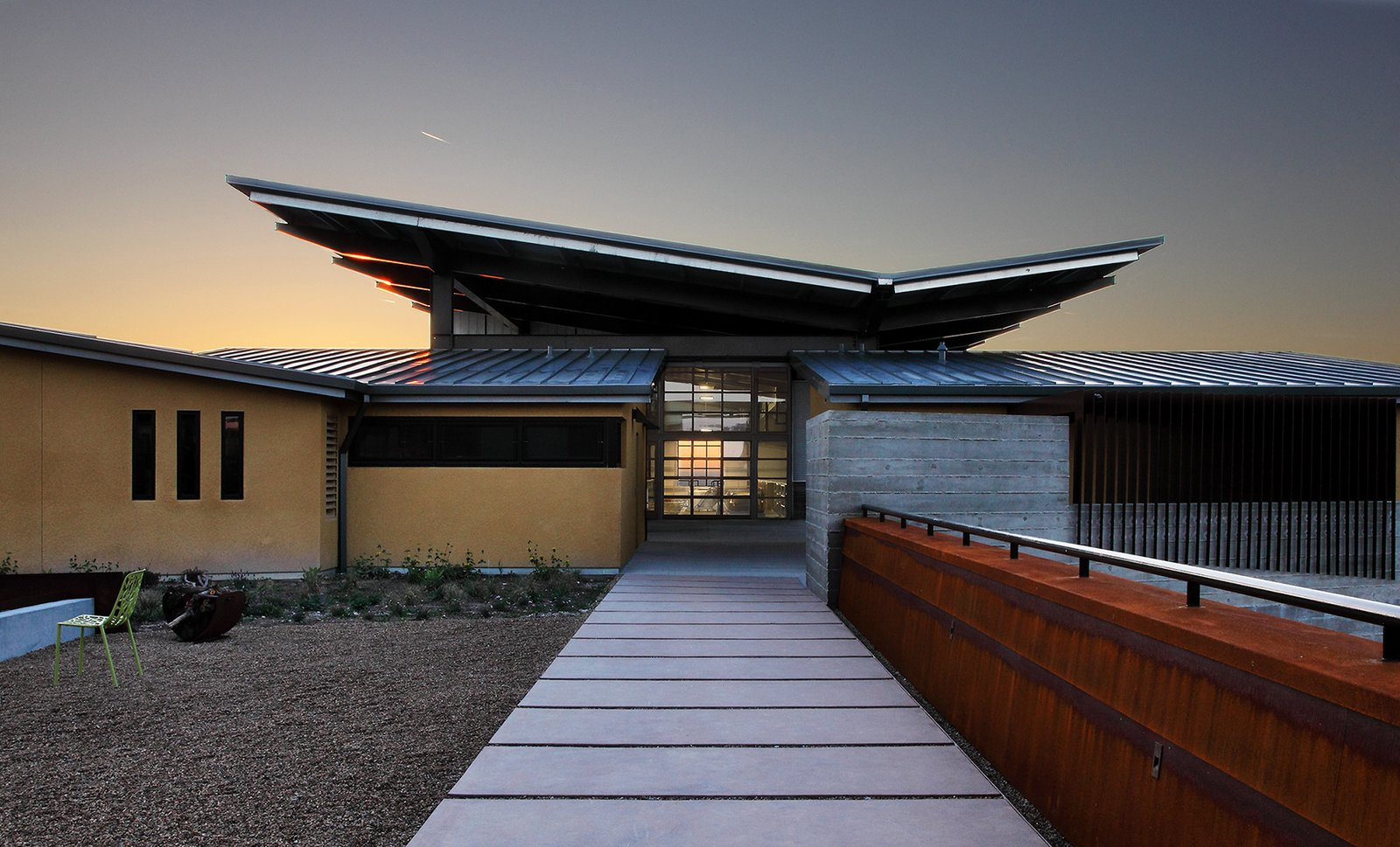 Photo 9 of 18 in 6 modern wineries on the west coast with for Winery floor plans by architects