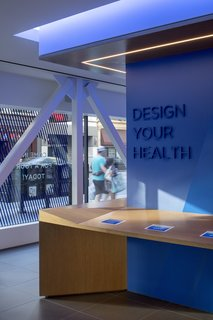 A Healthcare Start-Up Combines Modern Design With Top-Notch Technology and Care - Photo 4 of 11 - When members arrive, they can sign in at an iPad on the reception desk.