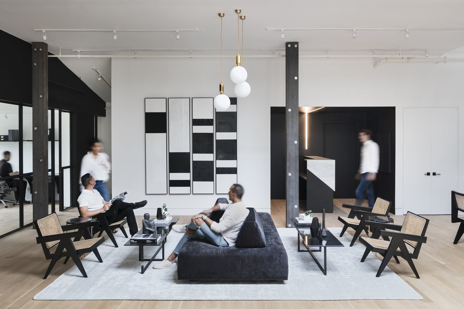 A Peek Inside a New Beautiful Co-Working Space For Creatives in Brooklyn
