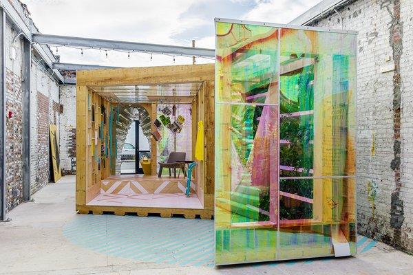 MINI LIVING Brings a Tiny Urban Cabin to A/D/O