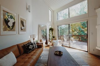 This Tree House For Rent Near Downtown Portland Doubles As an Art Platform - Photo 3 of 14 - Ample windows help keep the interiors as bright as possible during the dark Pacific Northwest winter.