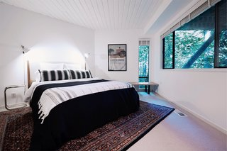 This Tree House For Rent Near Downtown Portland Doubles As an Art Platform - Photo 11 of 14 - Three comfortable bedrooms are located on the lower level.