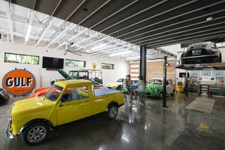 This Austin Home Was Designed to Showcase a Vintage Car Collection - Photo 3 of 20 -