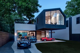 This Austin Home Was Designed to Showcase a Vintage Car Collection - Photo 2 of 20 -