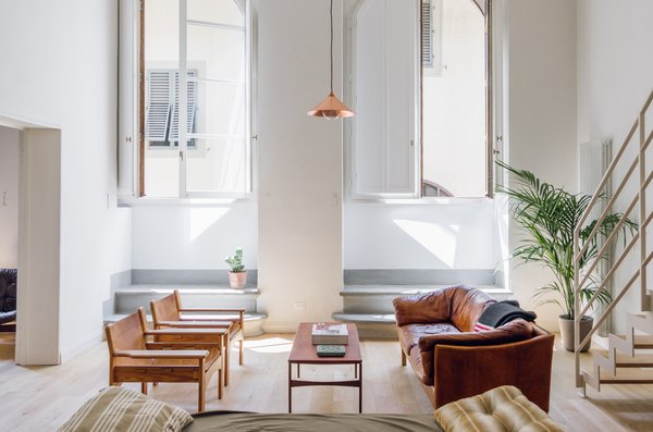 Bright, lofty and full of light, apartment #2 is a stunning space designed by Trotter.