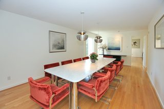 An Airy Toronto Estate For Sale Boasts Excellent Feng Shui - Photo 5 of 13 - The dining room overlooks the front yard.
