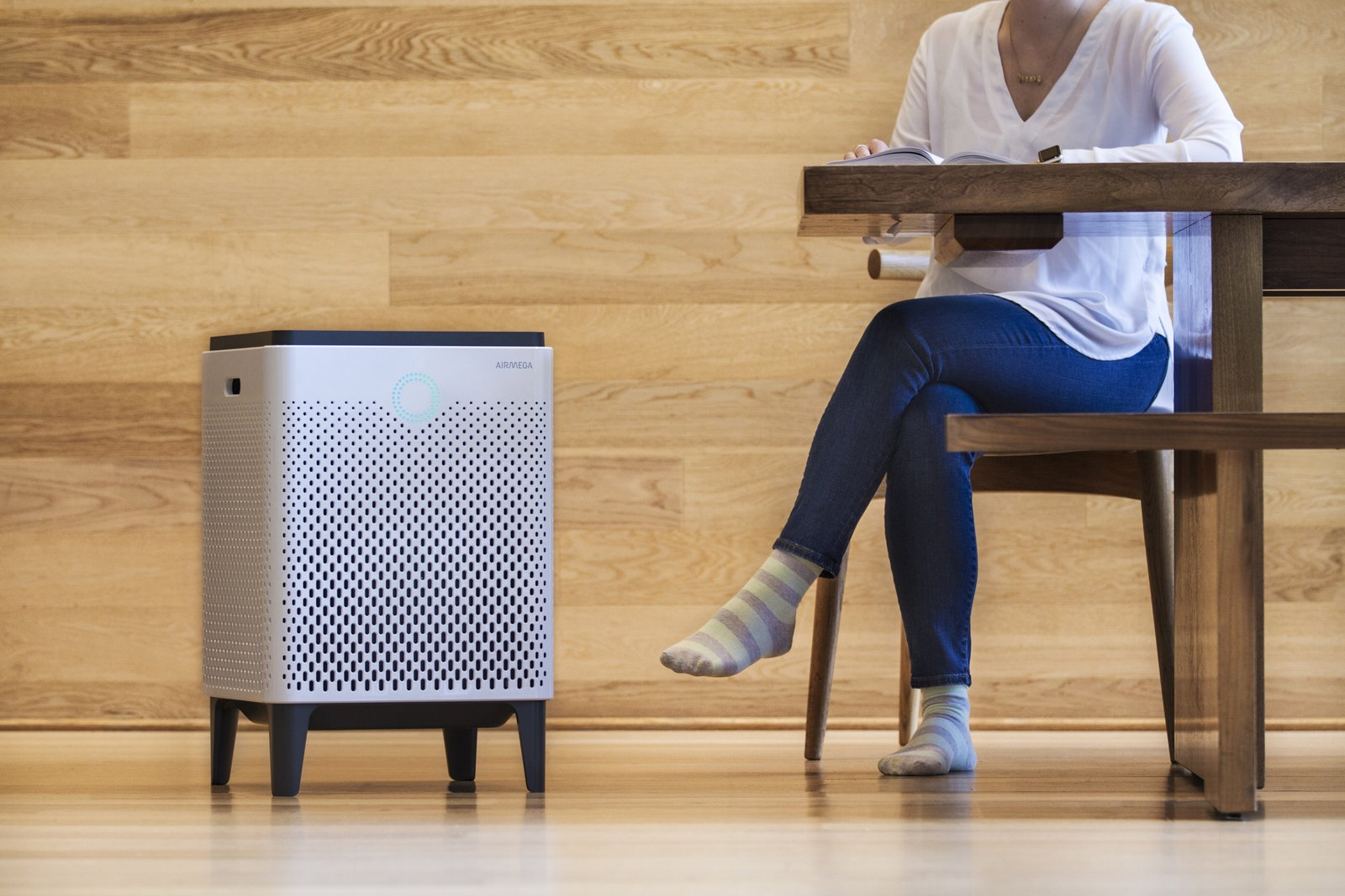 Airmega's powerful filters clean larger areas at faster rates, renewing the air in spaces up to 1560-square-feet twice in one hour.  Photo 9 of 10 in Instantly Make Your Home Healthier With Airmega