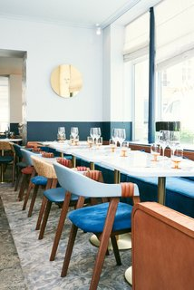 A New Israeli Eatery in Paris Serves Up Mediterranean Style - Photo 1 of 9 -