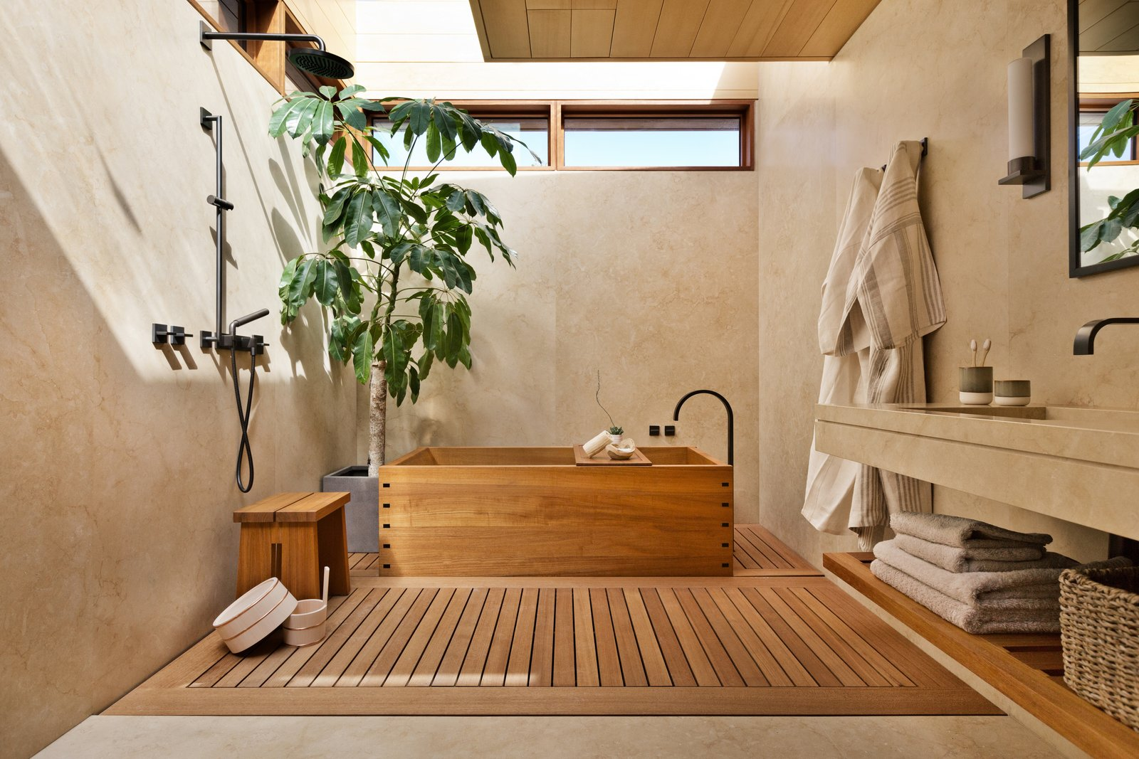 8 Spa Like Bathrooms Designed To Instantly Soothe