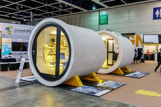These Tiny, Modular Homes Are Made of Concrete Water Pipes - Photo 3 of 15 -