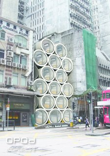 These Tiny, Modular Homes Are Made of Concrete Water Pipes - Photo 14 of 15 -