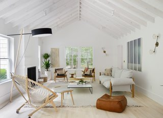 A Hamptons Beach Retreat Gets a Scandinavian-Style Makeover