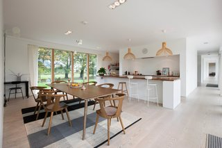 A Scandinavian-Style Pavilion in England Is Listed For $2.1M - Photo 1 of 11 - The bright, open, contemporary kitchen