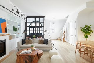 Two Renovated Carriage Houses in Brooklyn Hit the Market - Photo 1 of 13 - The luminous living area of 409 Vanderbilt Avenue