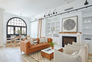 Two Renovated Carriage Houses in Brooklyn Hit the Market - Photo 6 of 13 - The light-filled, lovely living room of 411 Vanderbilt