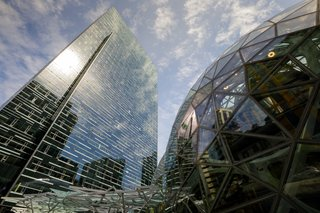Meet Downtown Seattle's Newest Landmark: The Amazon Spheres - Photo 4 of 8 - The Spheres form a dramatic addition to the Amazon headquarters and a landmark in downtown Seattle, demonstrating the company's long-standing commitment to the city.