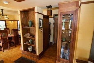 A Rare Lloyd Wright Prairie Home in L.A. Wants $1.35M - Photo 3 of 10 - Original built-ins