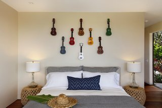 A Breezy Hawaiian Residence by Olson Kundig Hits the Market at $6.95M - Photo 7 of 14 - Simple island-flavored decor dresses one of the other bedrooms.