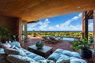 A Breezy Hawaiian Residence by Olson Kundig Hits the Market at $6.95M - Photo 8 of 14 - The lanai offers ample space for relaxation and the peacefulness of a private pool.