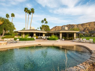 Own William Krisel's Palm Springs Pod House For $2.5M - Photo 15 of 18 - The spacious pool and outside entertaining area