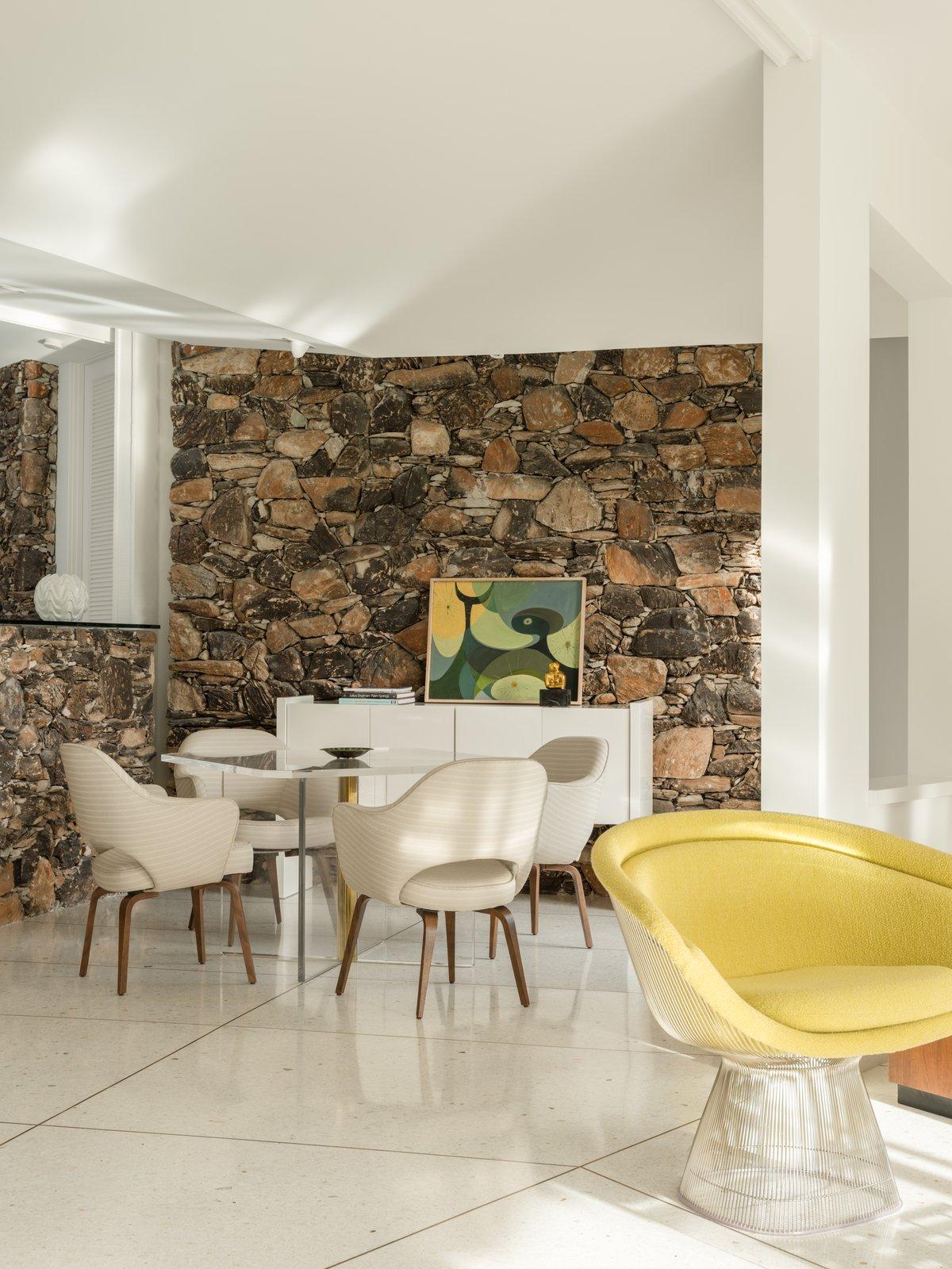 The home's design provide
