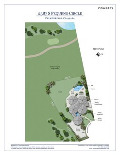 Own William Krisel's Palm Springs Pod House For $2.5M - Photo 18 of 18 - The site plan