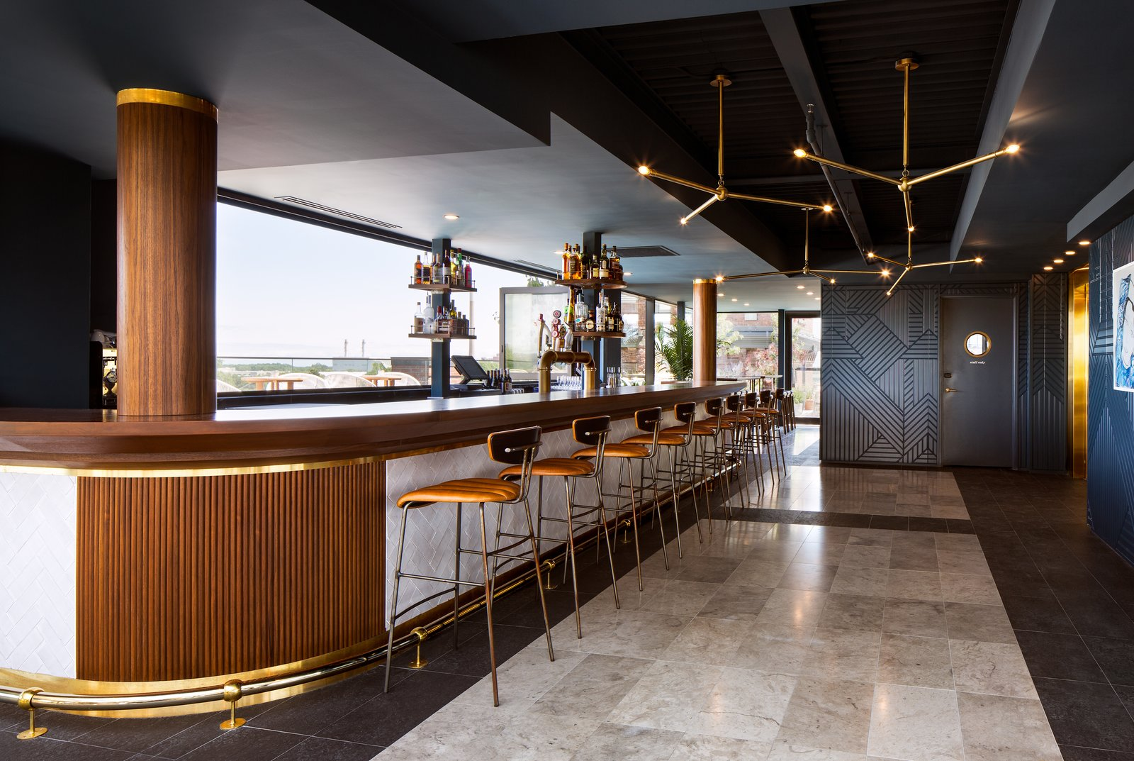 A Former Strip Club Transforms Into a Snazzy Boutique Hotel
