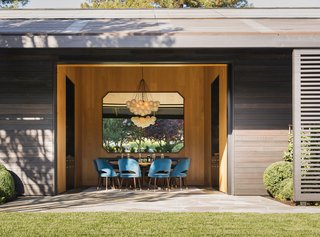 A Look Inside The French Laundry's Stunning $10M Renovation - Photo 10 of 11 - A look at the new dining area off the manicured garden.