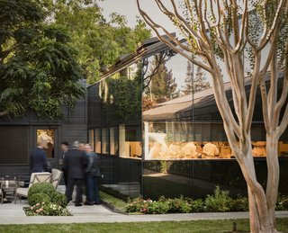 A Look Inside The French Laundry's Stunning $10M Renovation - Photo 4 of 11 - The pitched low-slung roofs of the kitchen and annex allude to their utilitarian function.