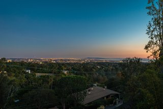 A Renovated Harry Gesner–Designed Midcentury in L.A. Wants $9.4M - Photo 14 of 15 - The inpiring views reach all the way out to the ocean.
