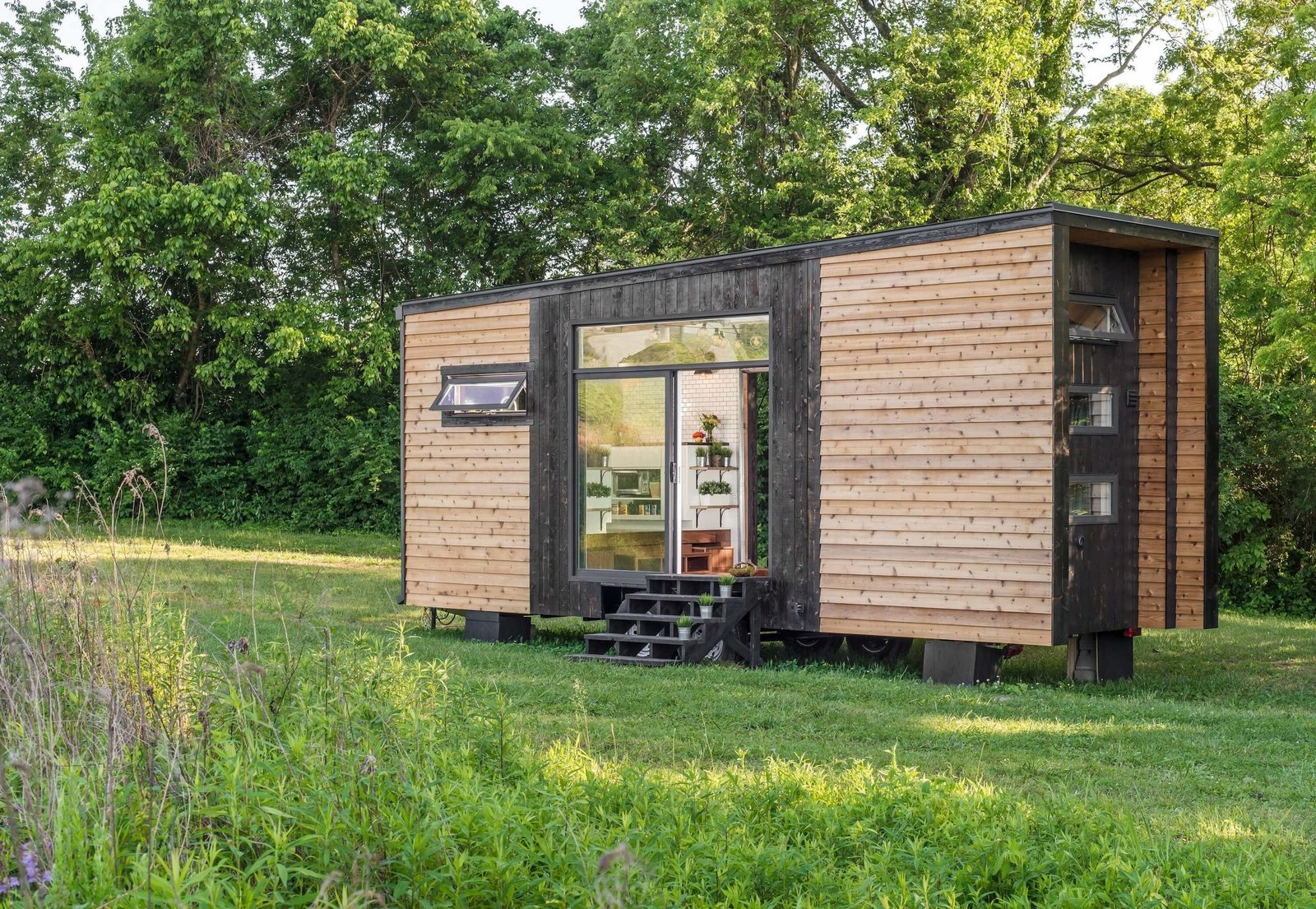 tiny house companies. New Frontier Tiny Homes\u0027s Alpha, Is One Of The Fanciest Homes Around. House Companies