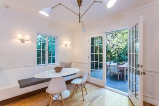 Moby Lists His Newly Renovated Los Feliz Manor For $4.5M - Photo 6 of 19 - The kitchen leads out to the patio area.