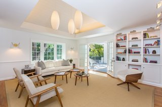 Moby Lists His Newly Renovated Los Feliz Manor For $4.5M - Photo 9 of 19 - An additional living area opens to the outdoors.