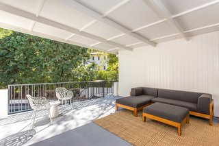 Moby Lists His Newly Renovated Los Feliz Manor For $4.5M - Photo 12 of 19 - A peek at the covered entertaining space.