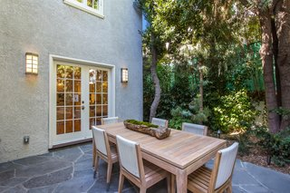 Moby Lists His Newly Renovated Los Feliz Manor For $4.5M - Photo 7 of 19 - The outdoor space includes room for al fresco dining.
