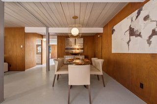 An Elegant Eichler Hits the Market at $1.15M in Northern California - Photo 13 of 21 - A look at the open dining room.