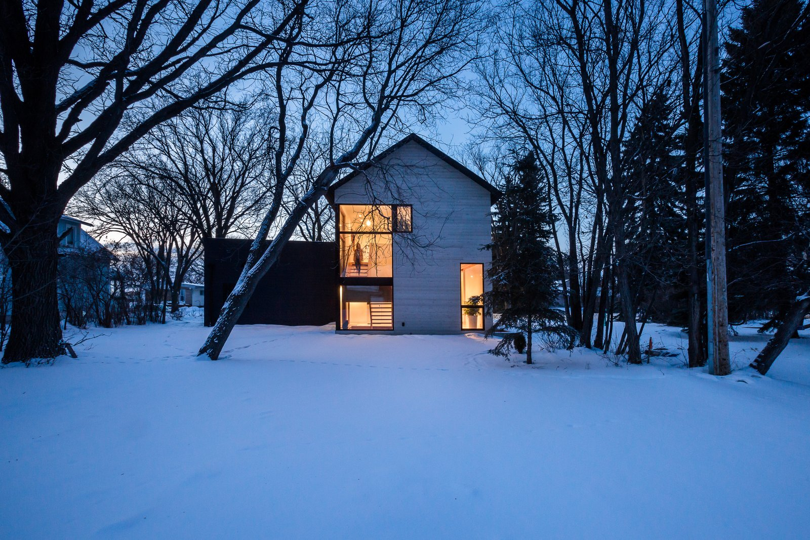Duerksen now runs his own architecture firm out of the home.