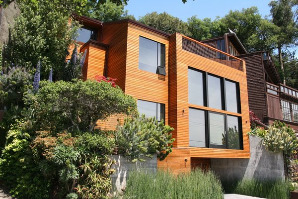 Photo  of Sausalito Hillside modern home