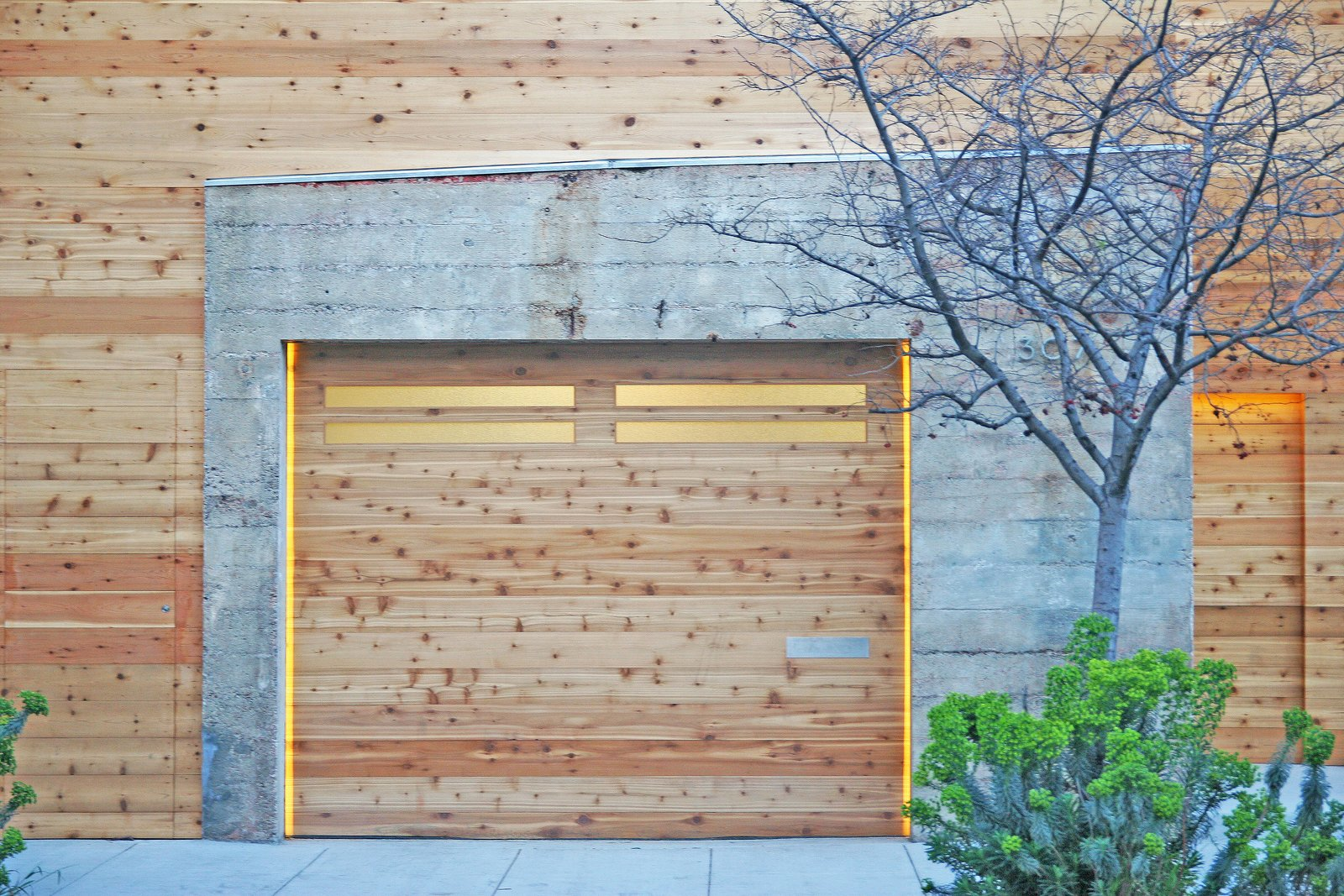 Entrance | Garage Tagged: Garage.  Shotwell Residence by Todd Davis Architecture