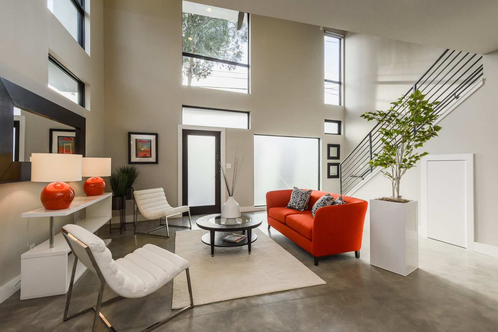 Tagged: Living Room.  El Camino Real Triplex by Todd Davis Architecture