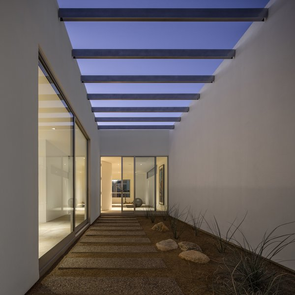 """""""We all like to think of architecture in the daytime,"""" says architect Michael Kothke. """"But this house is equally impressive at night."""""""