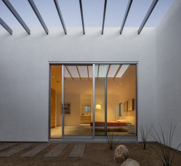 The architects liked the visual punch and economical price of Western Window Systems' sliding glass doors.