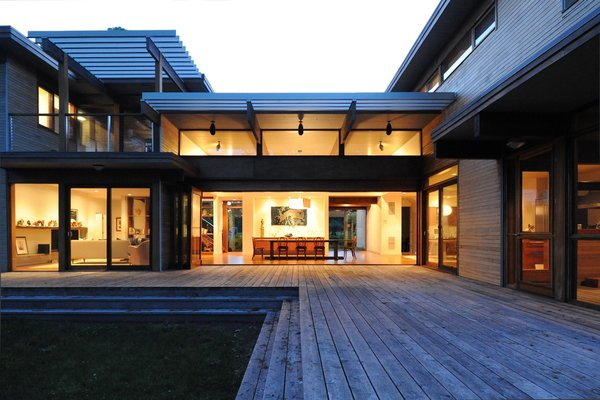 Photo 2 of Shelter Island modern home
