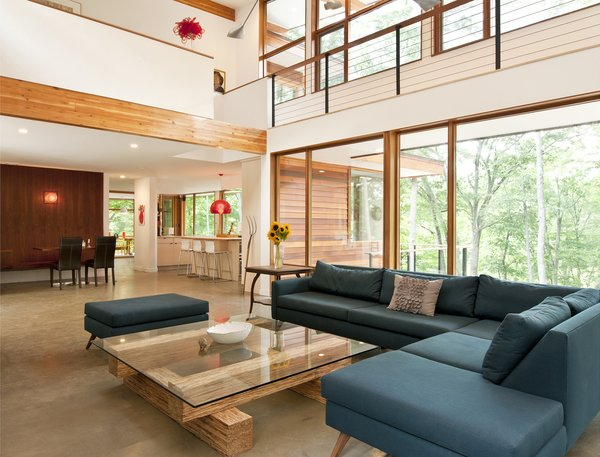Photo by Deborah DeGraffenreid Photo 3 of Wallkill River House modern home