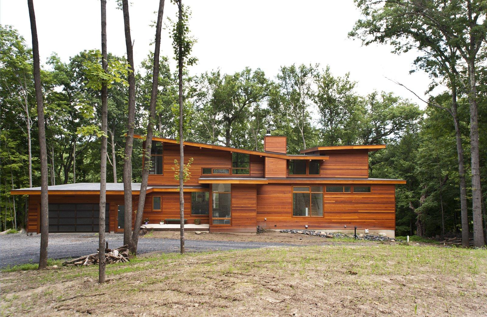 Photo by Deborah DeGraffenreid  Prefab Homes by Dwell from Wallkill River House